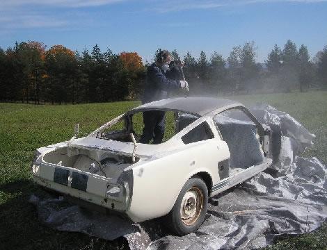 Before-Autó tisztítása